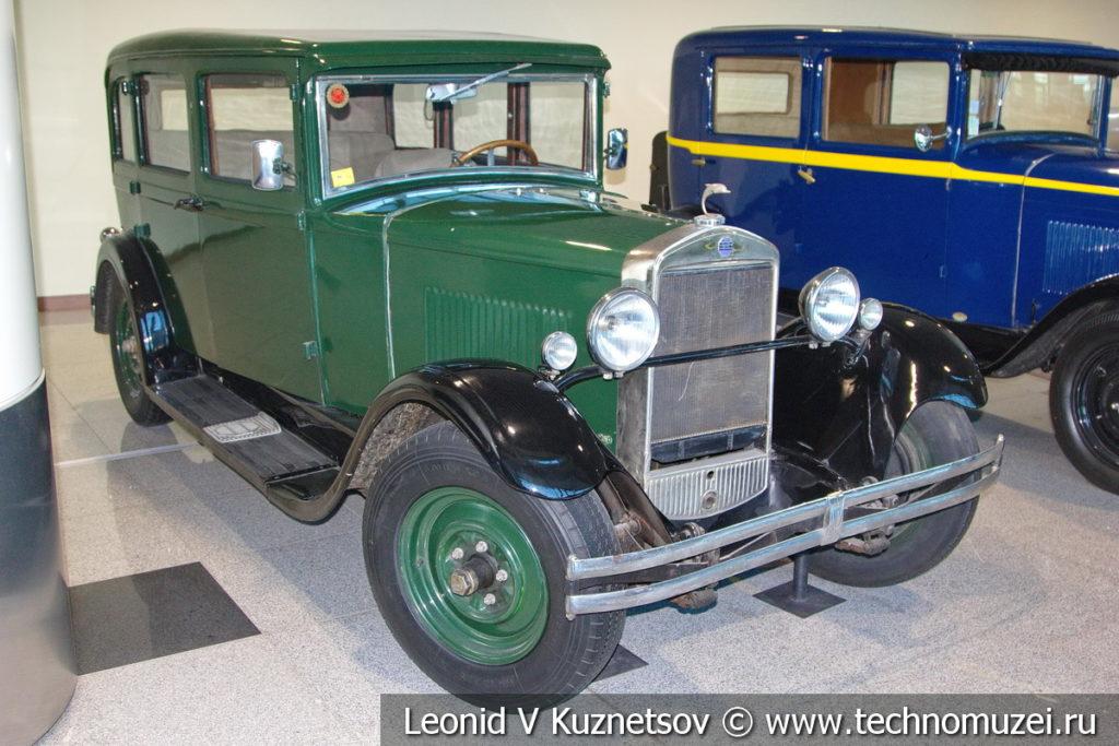 Donnet-Zedel CI-7 на выставке ретро автомобилей в аэропорту Домодедово