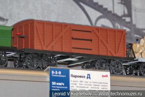 Крытый вагон Николаевской дороги модель