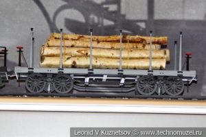 Платформа Николаевской дороги модель