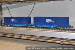 Сочлененный контейнеровоз 13-2114-11 модель