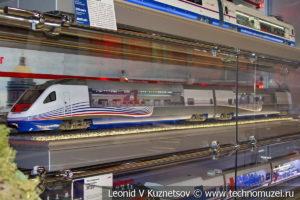 """Скоростной поезд """"Аллегро"""" модель"""