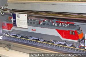 Пассажирский электровоз ЭП20 модель