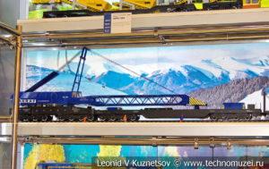 Ремонтно-восстановительный поезд модель