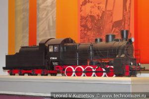 Паровоз Эу 709-84 модель