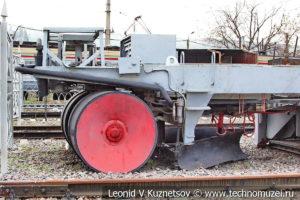 Балластоочистительная машина БМС-295 в Железнодорожном музее на Рижском вокзале