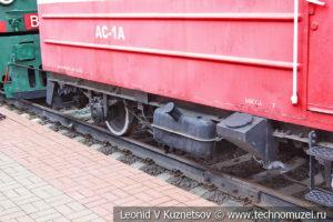Автодрезина АС-1А в Железнодорожном музее на Рижском вокзале
