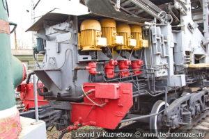 Опытная уборочная машина УМ1-19334010 в Железнодорожном музее на Рижском вокзале