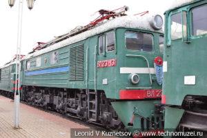 Грузовой электровоз ВЛ23-131 в Железнодорожном музее на Рижском вокзале
