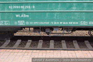 Спальный вагон в Железнодорожном музее на Рижском вокзале