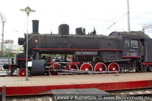 Паровоз Еа 2450 в Железнодорожном музее на Рижском вокзале