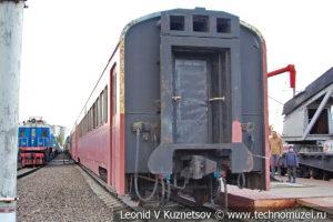 Дизель-поезд Д1 в Железнодорожном музее на Рижском вокзале