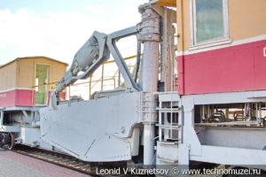 Струг-снегоочиститель СС-1 в Железнодорожном музее на Рижском вокзале