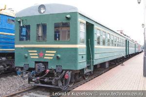 Моторвагонная секция Ср3Н-11775 в Железнодорожном музее на Рижском вокзале