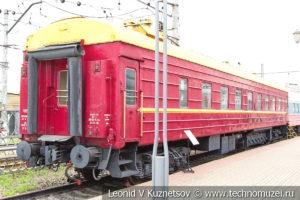 """Спальный вагон №017 70228 фирменного поезда """"Русь"""" в Железнодорожном музее на Рижском вокзале"""
