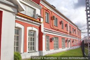 Паровозное депо в железнодорожном музее на станции Подмосковная