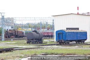 Депо станции Подмосковная