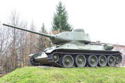 Памятник танк Т-34-85 в Бояркино