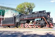 Памятник паровоз Л-3516 в Москве