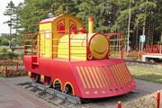 Арт-объект Поезд влюбленных в Новомосковске