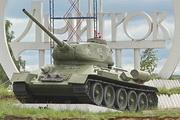 Памятник танк Т-34-85 в Дмитрове