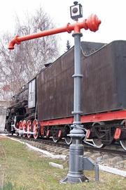 Памятник паровозная гидроколонна во Владимире