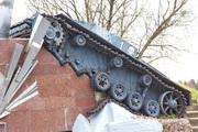 Подбитый StuG-III Ausf C/D на памятнике саперам в Волоколамске