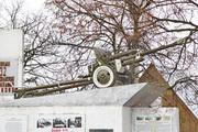 Памятник пушка ЗиС-3 в Акулово