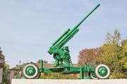 Памятник зенитная пушка 52-К в Кимовске
