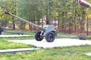Пушка Д-44 у музея в Снегирях