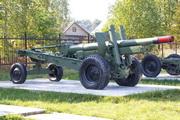 Гаубица-пушка МЛ-20 у музея в Снегирях