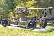 Зенитная пушка 52-К у музея в Снегирях
