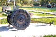 Пушка 52-П-353 у музея в Снегирях
