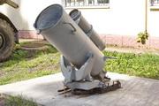 Бомбомет БМБ-2 у музея в Снегирях