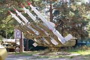 Пусковая установка ракет С-125 у музея в Снегирях