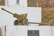Памятник пушка ЗиС-3 в Малое Уварово