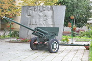 Памятник пушка ЗиС-2 в Москве