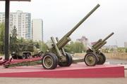 Пушка А-19 у музея обороны Москвы