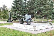 Памятник пушка Д-44 в Озерах