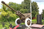 Памятник пушка ЗиС-3 в Селково