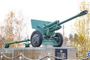 Памятник пушка ЗиС-3 в Тучково