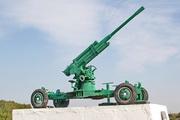 Памятник зенитная пушка 52-К в Узловой