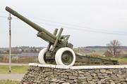 Памятник гаубица-пушка МЛ-20 в Волоколамске
