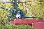 Памятник пушка ЗиС-3 в Яхроме