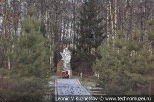 Памятник защитникам Москвы в деревне Борзые