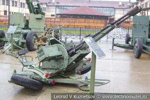 23-мм зенитная пушка ЗУ-23 (2А13) 1960 года в музее отечественной военной истории в Падиково