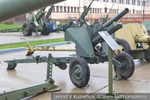 76-мм горная пушка образца 1958 года М-99 (ГП) в музее отечественной военной истории в Падиково