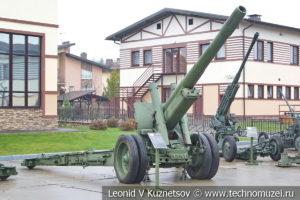 152-мм гаубица-пушка образца 1937 года МЛ-20 (52-Г-544А) в музее отечественной военной истории в Падиково