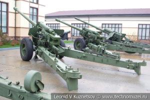 130-мм пушка М-46 (52-П-482) 1951 года в музее отечественной военной истории в Падиково