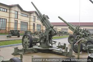76-мм зенитная пушка образца 1931 года 3-К (52-П-31) в музее отечественной военной истории в Падиково