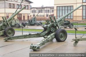 122-мм пушка образца 1931-37 годов А-19 в музее отечественной военной истории в Падиково